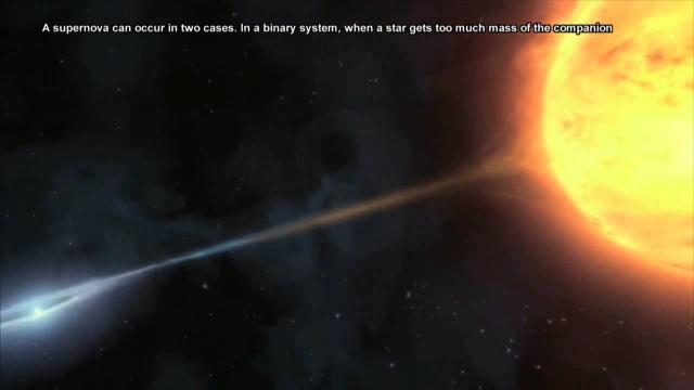 Supernova : La estrella V766 Centauri explotará
