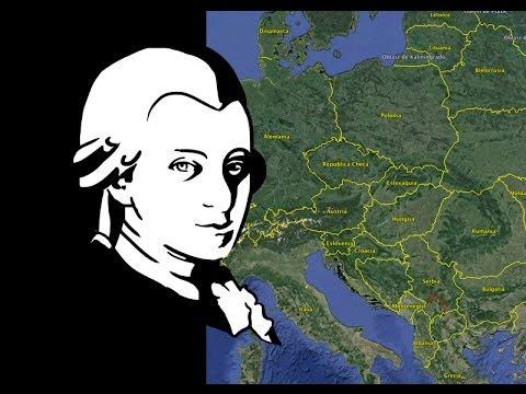 Viaje de Mozart de Salzburgo a Bruselas (1763-1766)