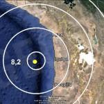Terremoto (8.2) Chile. 1/04/2014. Réplica (7.6) 2/4/2014