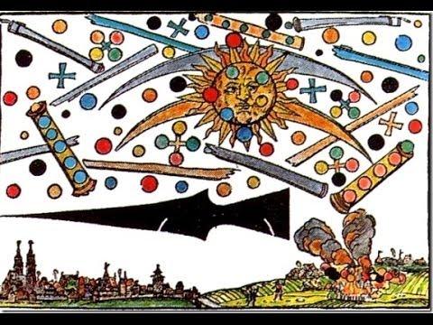 La batalla extraterrestre de Nuremberg, Alemania 1561