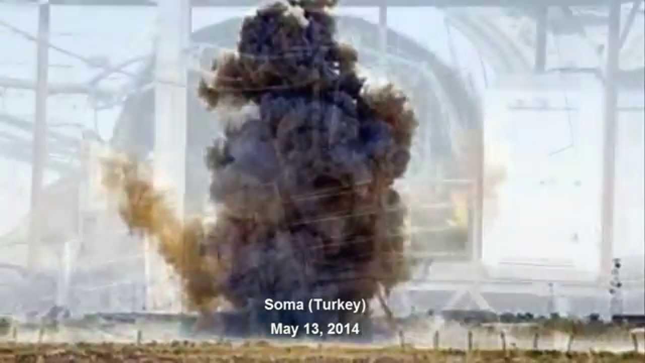Más de 200 muertos. Mina de carbón en Soma (Turquía)