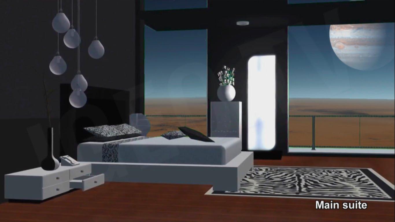 Increíbles hoteles en Marte: Turismo ficción