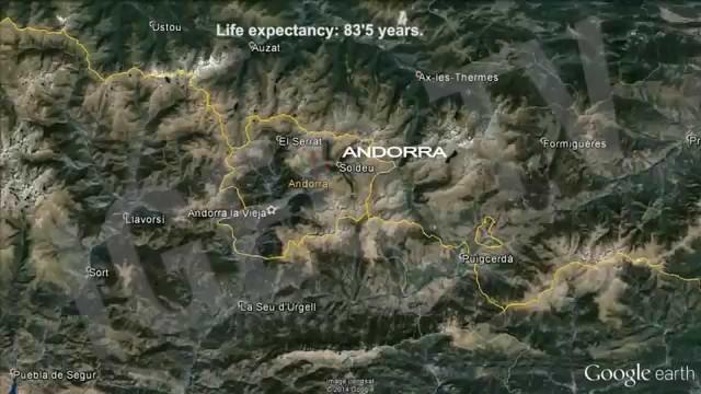 Las regiones más longevas del mundo