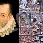 Los restos de Cervantes en el Convento de las Trinitarias