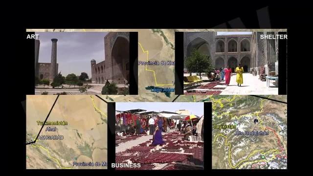 La Ruta de la Seda. Samarkanda