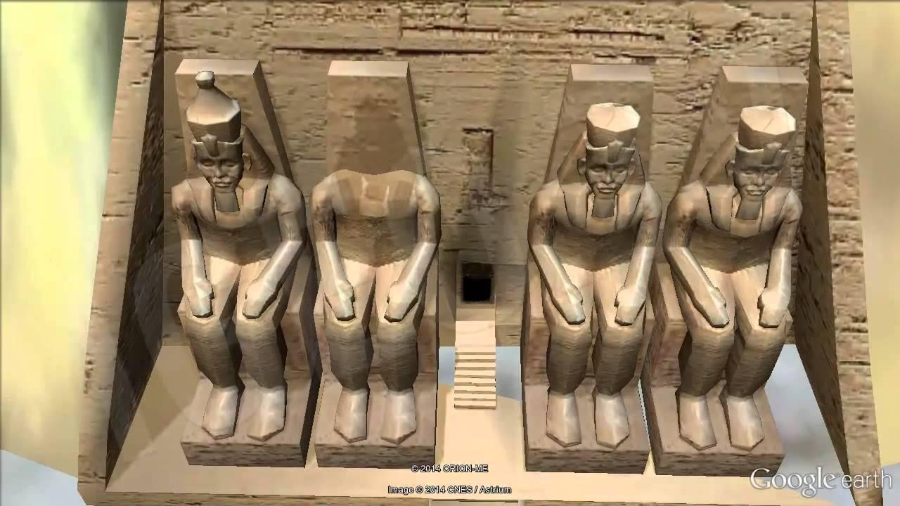 Yacimiento de Abu Simbel